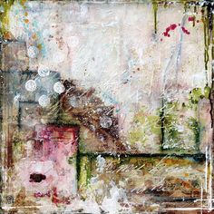 Laly Mille artist - stunning use of color and texture.