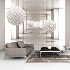 Vlies Fototapete 400x280 cm - 3 Farben zur Auswahl - Top - Tapete - Wandbilder XXL - Wandbild - Bild - Fototapeten - Tapeten - Wandtapete - Wand - Abstrakt 3D a-A-0149-a-b