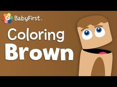 Monkies, Bears and Cookies | Brown | Learn Colors | Color Crew | BabyFirst TV - YouTube