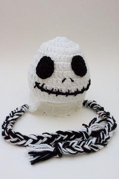 Skeleton Hat Newborn Photo Prop Photography Props by handmaknit