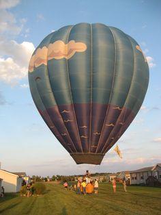 The Sun Pirate Hot Air Balloon