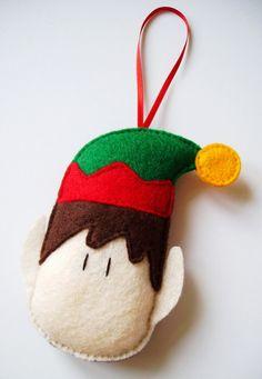 Custom Listing For Nicola - Felt Christmas Decorations