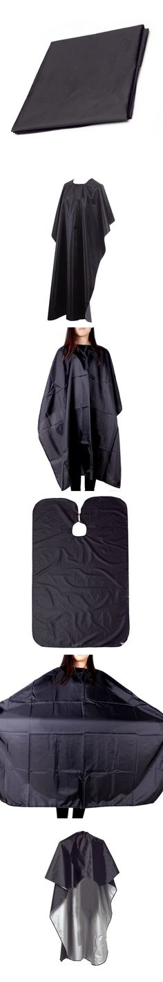 Hair Cutting Black Large Size Beauty Salon Adult Waterproof Hairdressing Barbers Hairdresser Gown Cape Wrap New Arrival