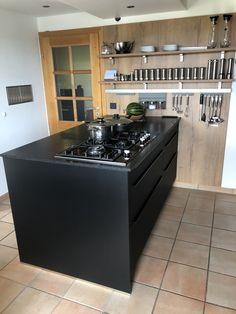 Wilde, Kitchen Island, Black, Home Decor, Kitchen Contemporary, Shelves, Countertop, Granite Counters, Nice Asses