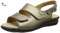 Hotter  Easy, Sandales Bout ouvert femme - or - Gold (Pale Bronze), 38 2/3 - Chaussures hotter (*Partner-Link)