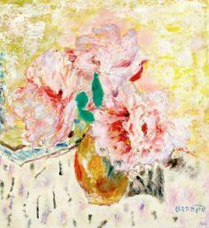 Pierre Bonnard, Les Pivoines on ArtStack #pierre-bonnard #art