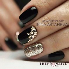 #Elegant #shining #nails #art #for #inspiration