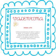El nombre del bebé: Valentina #BebésNUK