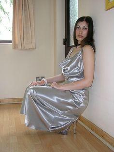 Satin Slip, Silk Satin, Slip On, Satin Dresses, Gowns, Satin Nightie, Thing 1, Saree, Lingerie