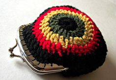 Feelin' Irie Rasta Coin Purse by LionessXpressions on Etsy, $15.00