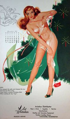 Bill Randall...A redhead wrapped in clear plastic is truly a Merry Christmas!