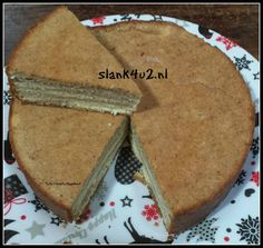 Koolhydraatarme Spekkoek - Slank4u2 Slow Cooker Recipes, Low Carb Recipes, 200 Calorie Meals, Healthy Sugar, Healthy Food, Low Carbohydrate Diet, Indonesian Food, Pie Dessert, No Cook Meals