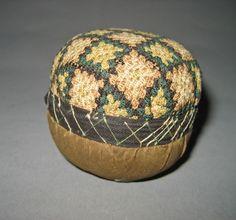 Pincushion - pinball, American, ca. 1750-1800