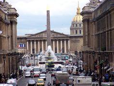 rue Royale, Place de la Concorde