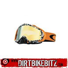 2014 Oakley Mayhem Motocross Goggles - Viper Room White Gold - 24K Irridium  - 2014 Oakley 979a2e28312