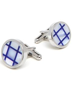 Got an architect or engineer in your life? These cuff links, with their graphing paper-like lines, are perfectly and stylishly geek chic.