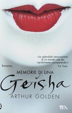 Memory of a geisha, Arthur Golden. I Love Books, Great Books, Books To Read, My Books, Geisha Book, Arthur Golden, True Confessions, Memoirs Of A Geisha, Beautiful Book Covers