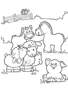 Animal Coloring Pages for Kids: Here is our collection of 25 free coloring pages of animals to print for kids of all ages.