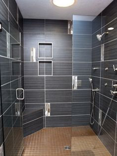 kitchen design dayton ohio exhaust fan commercial shower niche with schluter metal edges | 17,221 ...