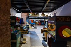 Saint Petersburg arcade machines