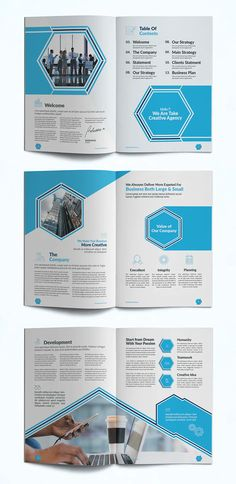 Company Profile Layout Design INDD, PDF - 14 Pages Company Profile Design Templates, Booklet Design, Layout Design, Design Design, Company Letterhead, Design Brochure, Learn Programming, Business Portrait, Layout Template