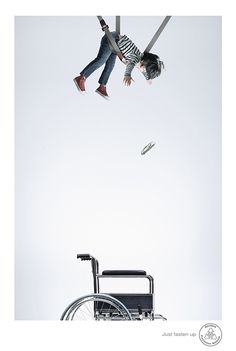 Clever advertising campaigns developed by Asawin Tejasakulsin, a senior art director at Ogilvy & Mather in Bangkok, Thailand. More advertising inspiration via Behance Clever Advertising, Advertising Poster, Advertising Campaign, Advertising Design, Creative Poster Design, Ads Creative, Graphic Design Posters, Creative Typography, Road Safety Poster