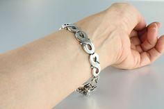 Los Ballesteros sterling silver Bracelet figure 8 by RMSjewels
