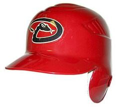 Arizona Diamondbacks Official Batting Helmet - Left Flap
