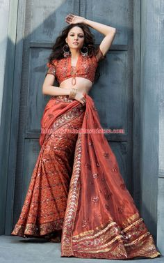 Sari, thats such a beautiful color