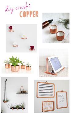 DIY Crush: Copper