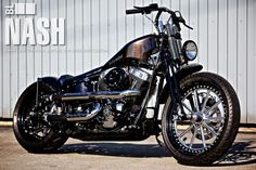 TWIN CAM SPRINGER SOFTAIL : 210 WIDE TIRE CUSTOM [NASH]