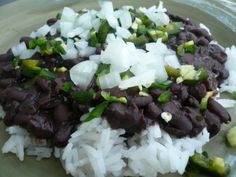 Tommy's Rice and Beans - Vinegar seals the deal on this recipe! http://www.epicurious.com/recipes/food/views/Tommys-Rice-and-Beans-101554