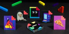 Giphy's New Brand Identity Uses Holograms To Bring GIFs Into RL | Designed by Dark Igloo
