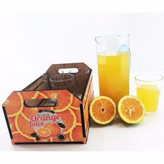 Novos kits !!! Kit Orange Juice -  R$ 49,90  #presente #giftbox #natal #copos #loucosporsuco