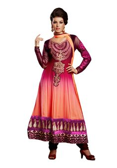 #Multi Color Heavy #Anarkali