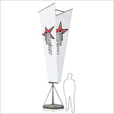 Crowd Teaser 5,4m  The perfect solution for attracting attention at large outdoor events, this 5.4m double sided banner certainly stands out from the crowd. It comes with a water-filled base for stability, and both base and the telescopic pole structure come in carrier cases for ease of transport. Size: Total Height: 5.4m. Print: 4m (h) X 1.3m (w) Telescopic Pole, Wall Banner, Outdoor Events, Stability, Teaser, Flags, Banners, Crowd, Things To Come