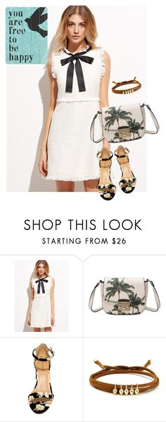 """""""dress"""" by masayuki4499 ❤ liked on Polyvore featuring Bamboo, Jules Smith and Home Decorators Collection"""
