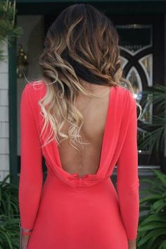 Gorgeous dress and ombre