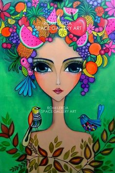 Risultati immagini per romina lerda Wal Art, Afrique Art, Dot Art Painting, Arte Popular, Whimsical Art, Mosaic Art, Indian Art, Cute Art, Art Girl