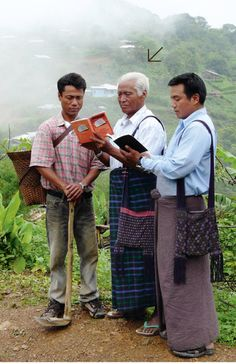 Myanmar (Burma) - Language Myanmar (Burmese) is the official language spoken nationwide, but most ethnic groups also have their own tribal language. JW.org info from 2013 Yearbook of Jehovah's Witnesses. Deaf Bible, Burma, Family World, Strong Faith, Everlasting Life, Jehovah's Witnesses, The Kingdom Of God, Romans, Good News
