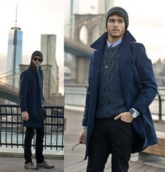 Coat, Asos Sweater, Giorgio Brutini Darth Shoes