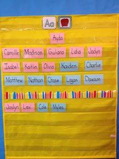 LOVE THIS letter idea  Live, Love, Laugh Everyday in Kindergarten: Teaching Smart