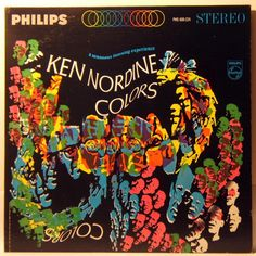 Ken Nordine * Colors #LP #cover