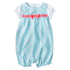 Just One You™Made by Carter's® Girls' Romper and Bodysuit Set - White/Blue