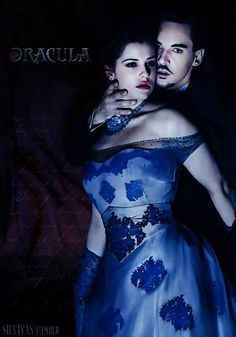 Dracula and Mina. that dressssss. it's the most gorgeous thing on that show so far.