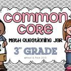 Grade Common Core Questioning: 139 CC aligned questions and pages of material! Too Cool For School, School Fun, School Ideas, School Stuff, Second Grade Math, 4th Grade Math, Math Resources, Math Activities, Teaching Math