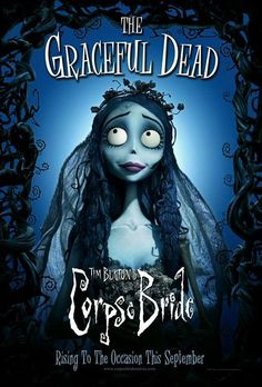 TB074. Corpse Bride / Corpse Bride / Movie Poster by BLT COMMUNICATIONS, LLC (2005) / #Movieposter