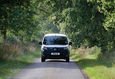 The 100% electric #Renault Kangoo  #van #driving