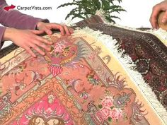 Find out more about the beautiful Tabriz carpets from Iran.