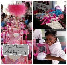 Spa Birthday Party #SpaThemedBirthdayParty #SpaParties